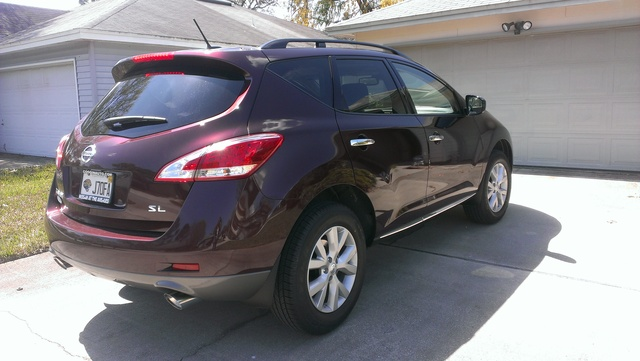 2014 nissan murano sl reviews