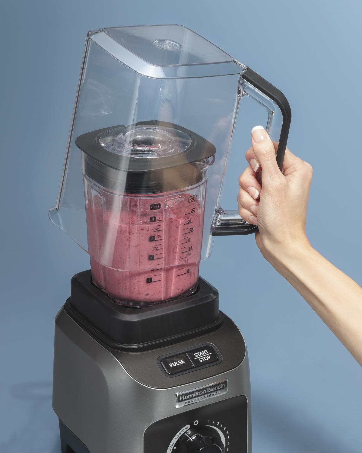 hamilton beach professional quiet shield blender review