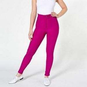 american apparel riding pants review
