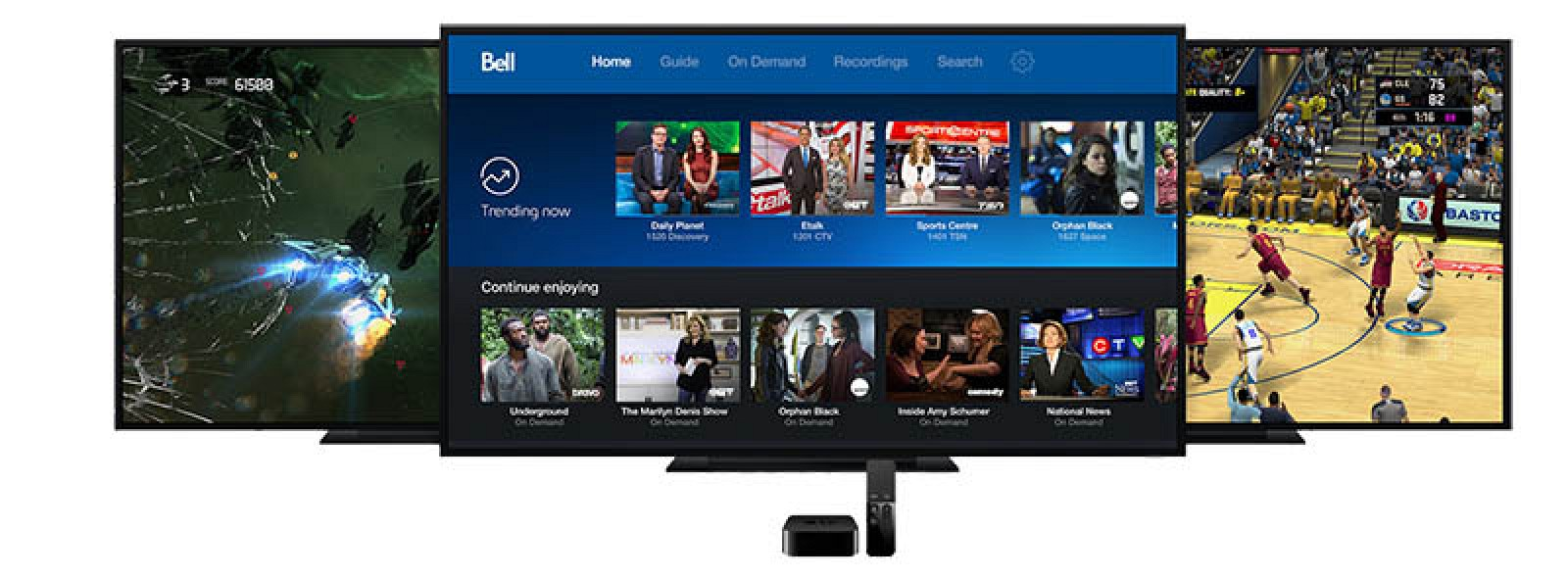 bell fibe apple tv review