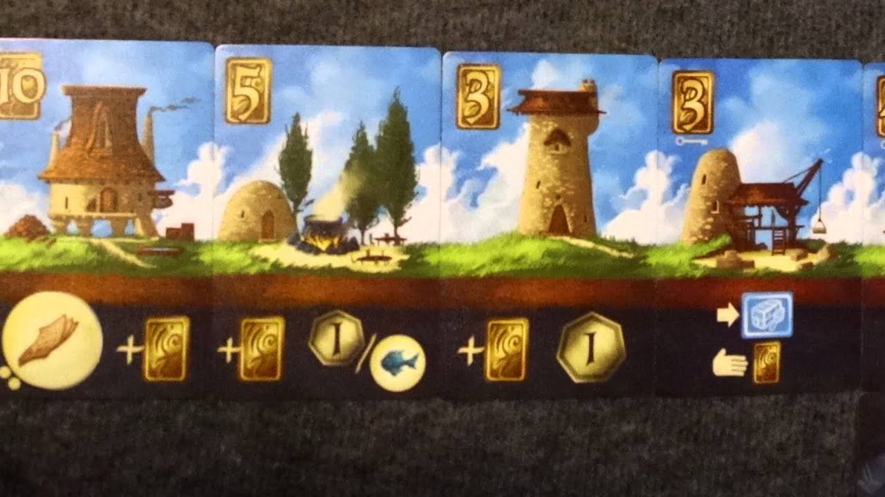 above and below board game review