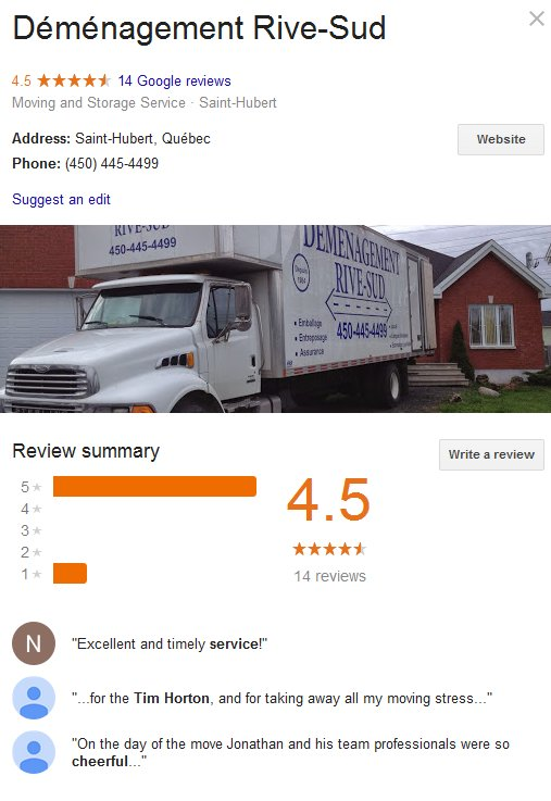across canada moving and storage reviews