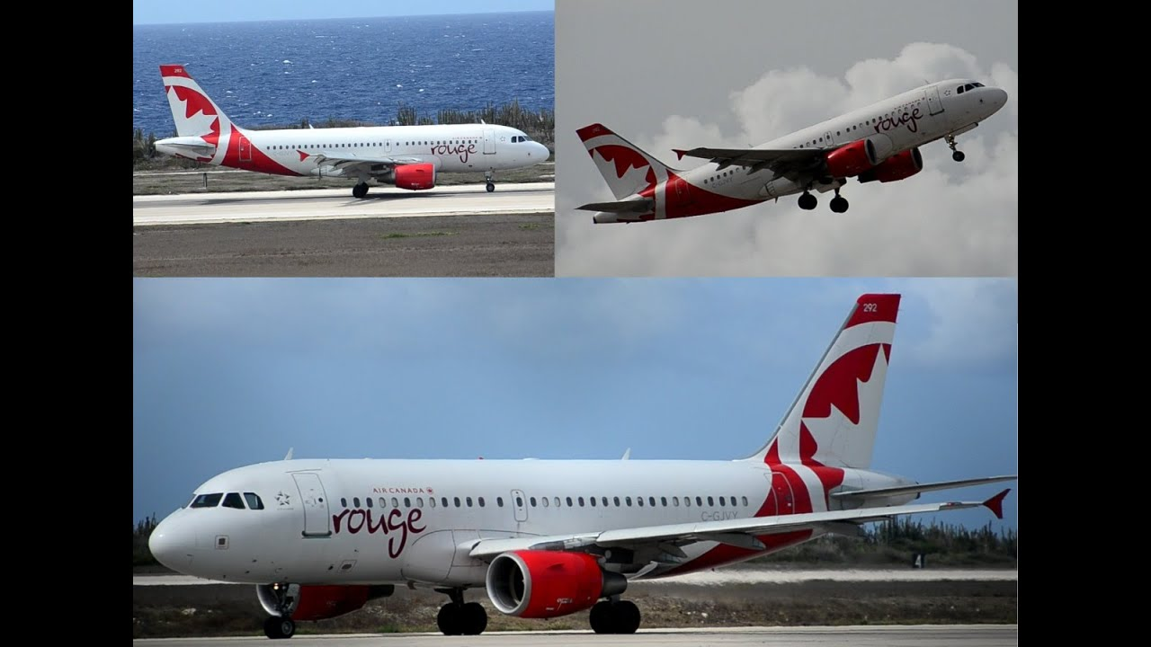 air canada rouge a319 review