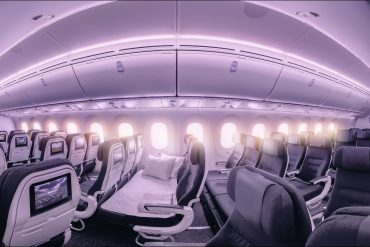 air new zealand skycouch review 2016