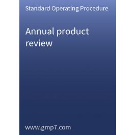annual product quality review guidance