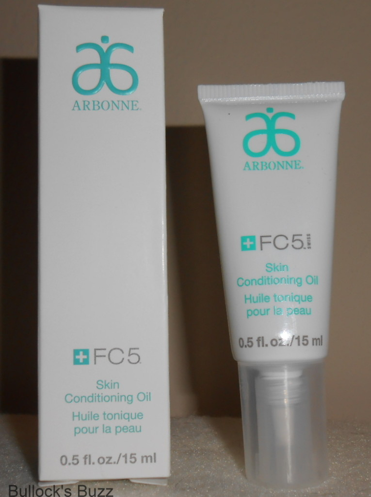arbonne fc5 skin conditioning oil review