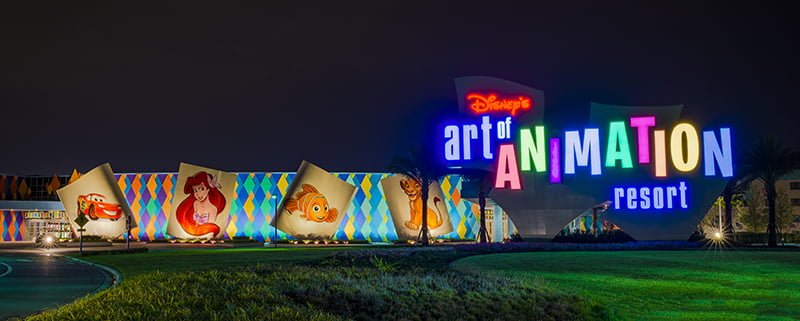 art of animation hotel reviews