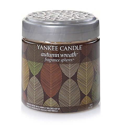 autumn wreath yankee candle review