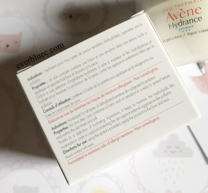 avene hydrance cream in gel review