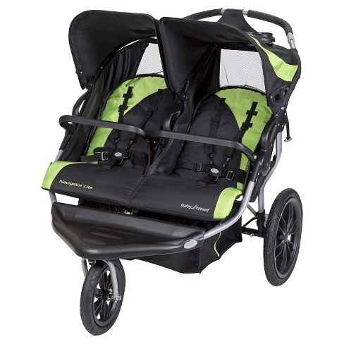 baby trend navigator double jogging stroller reviews