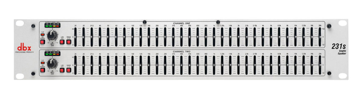 dbx 231 graphic equalizer review