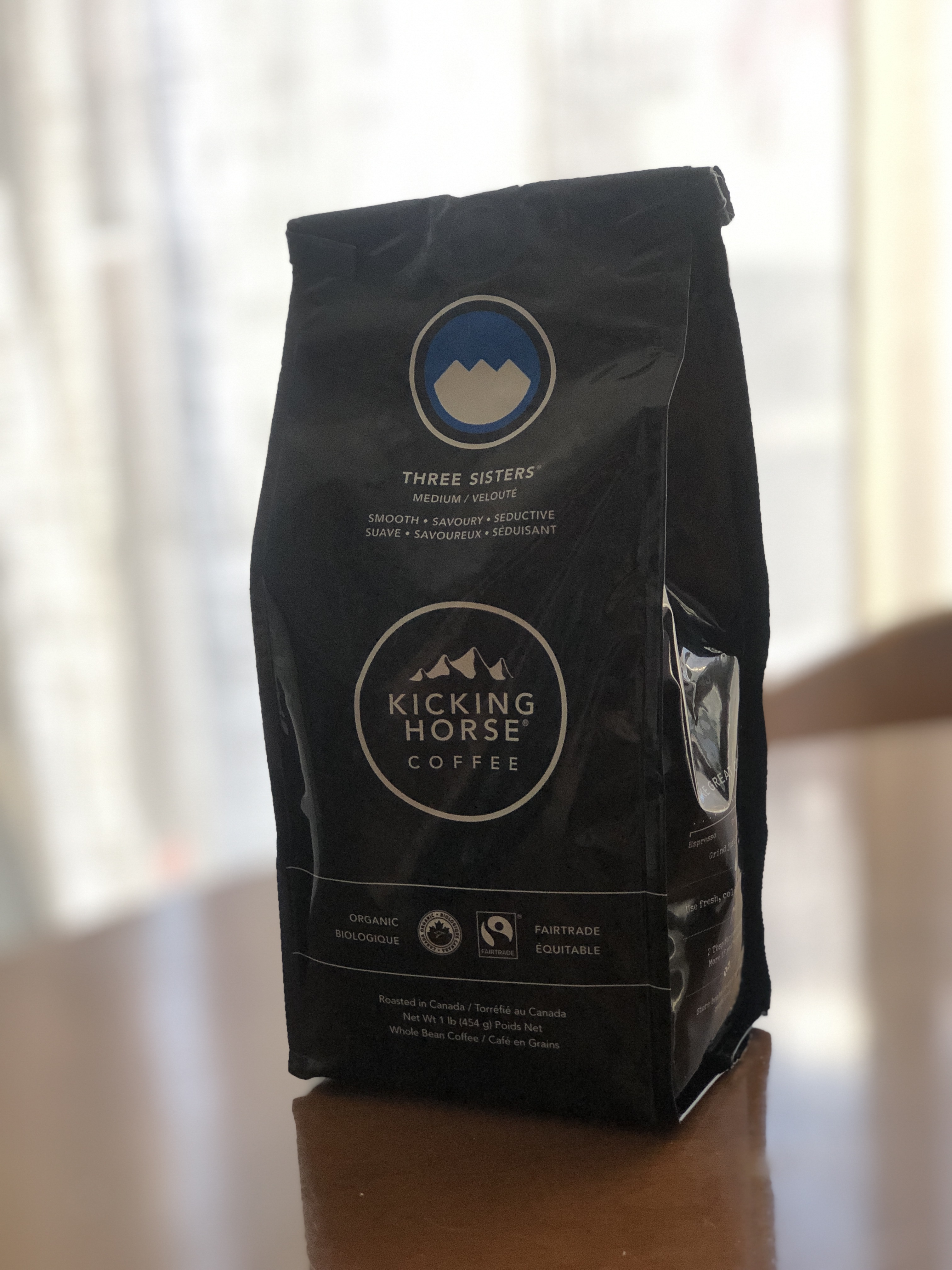 kicking horse coffee three sisters review
