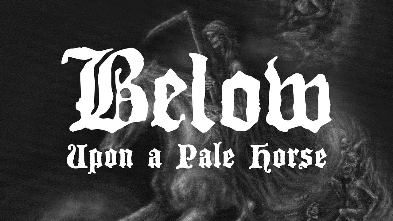below upon a pale horse review