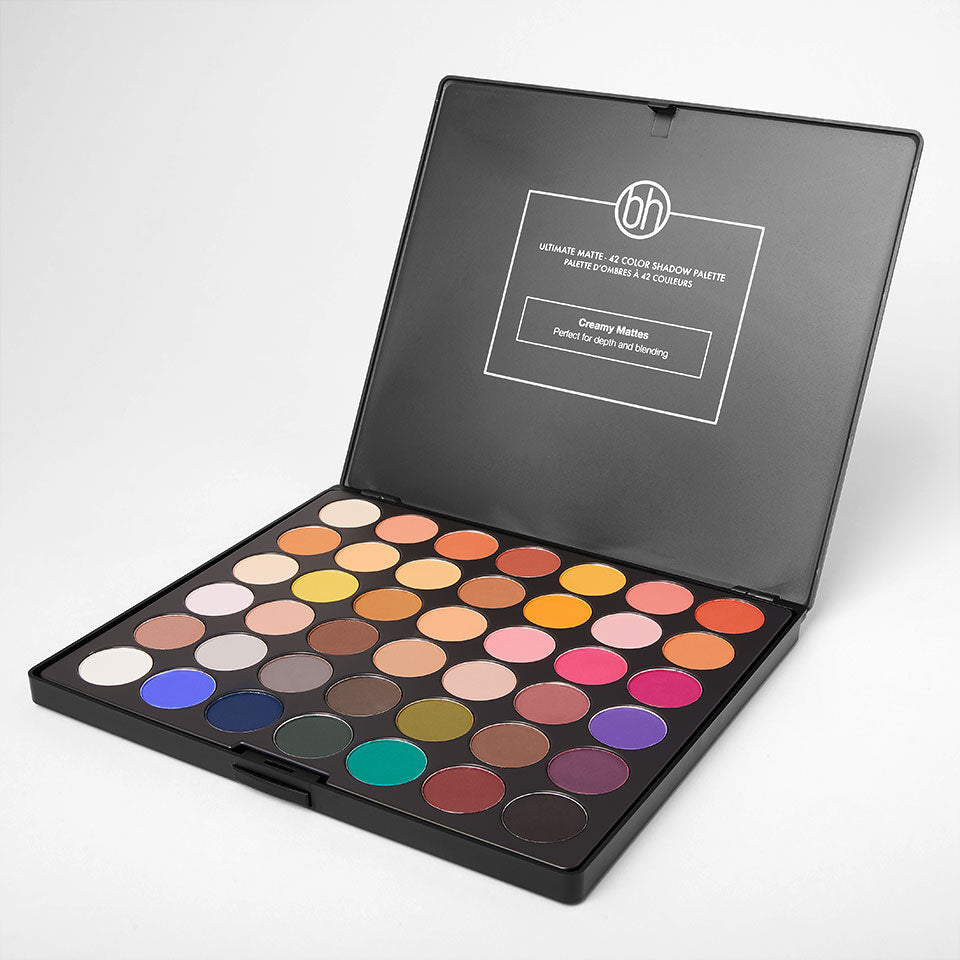 bh cosmetics matte eyeshadow palette review