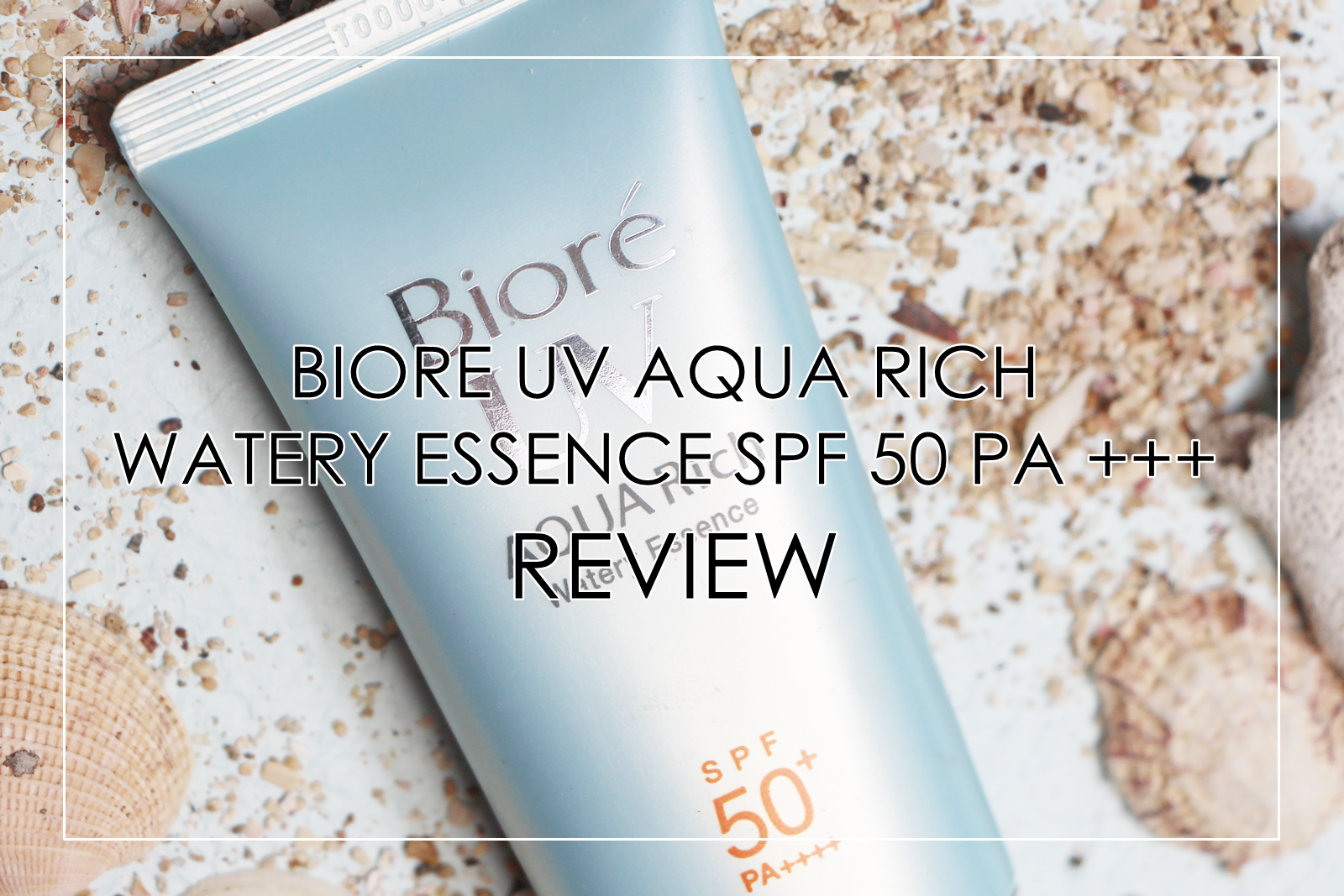 biore uv aqua rich review