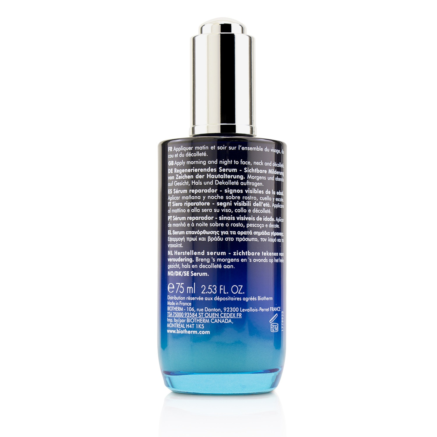 biotherm blue therapy accelerated serum review