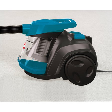bissell powerforce bagless canister vacuum review