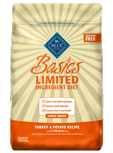 blue buffalo basics dog food reviews