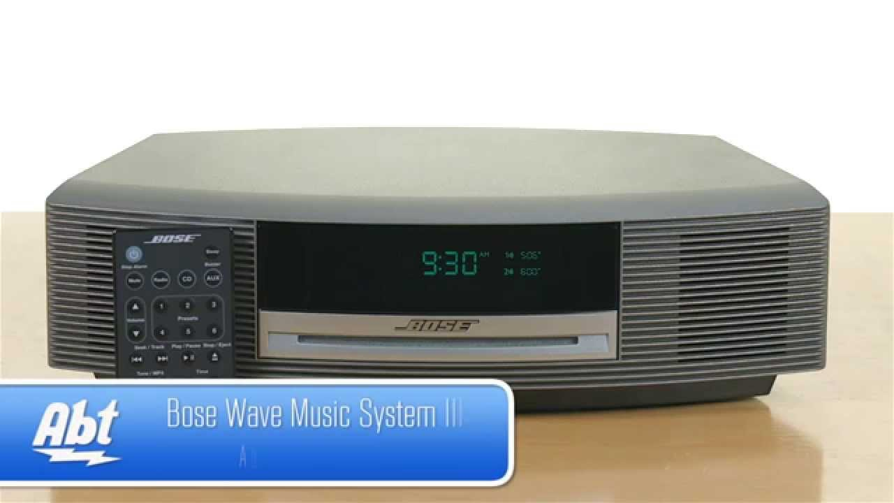 bose wave music system 3 review