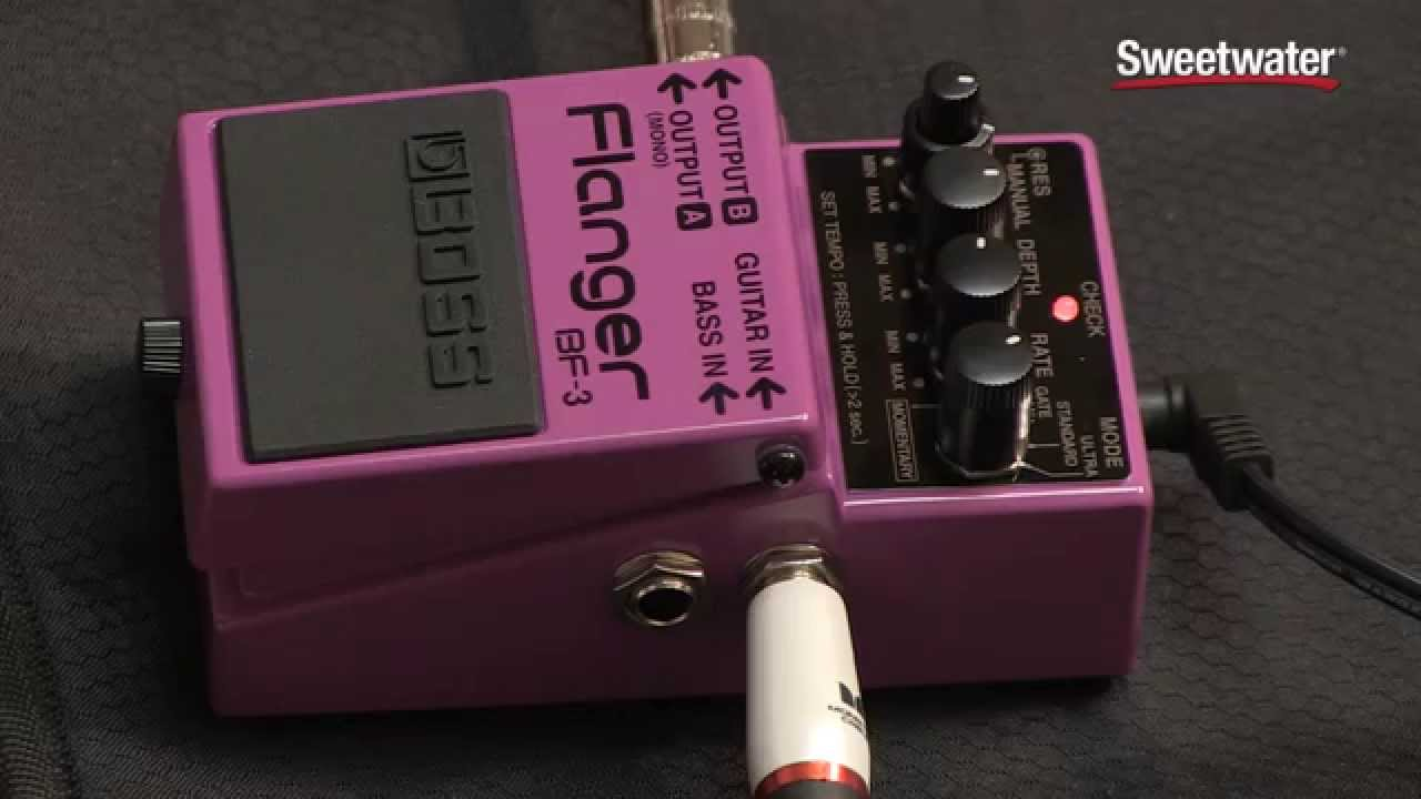 boss bf 3 flanger review