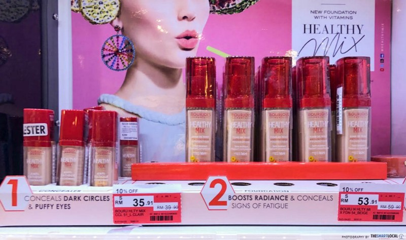 bourjois healthy mix foundation review indonesia