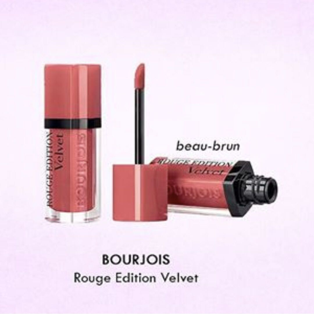 bourjois rouge edition velvet beau brun review