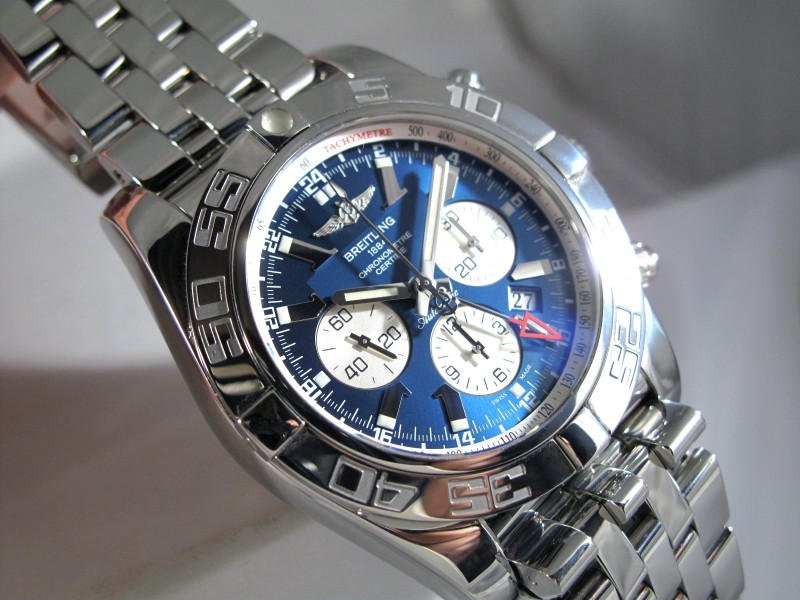 breitling chronomat gmt 47mm review