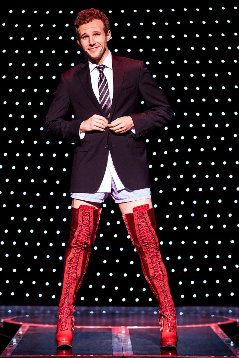 brendon urie kinky boots review