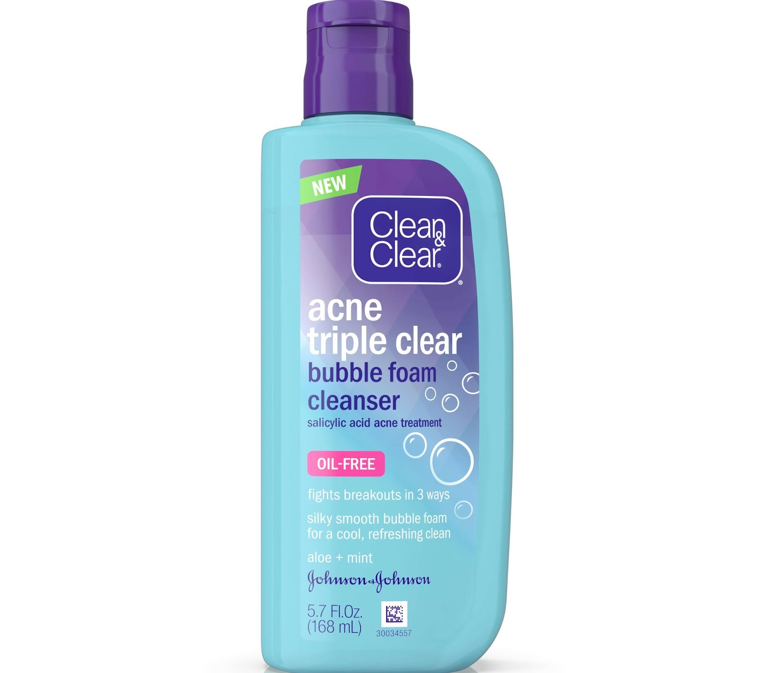 clean and clear bubble foam cleanser review