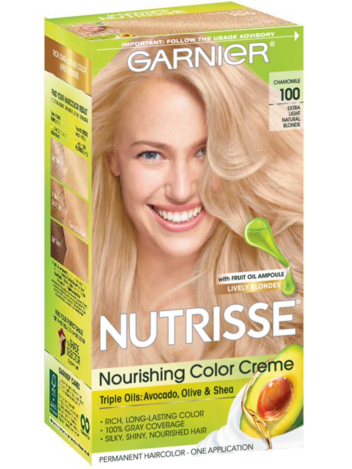 creme of nature lightest blonde review