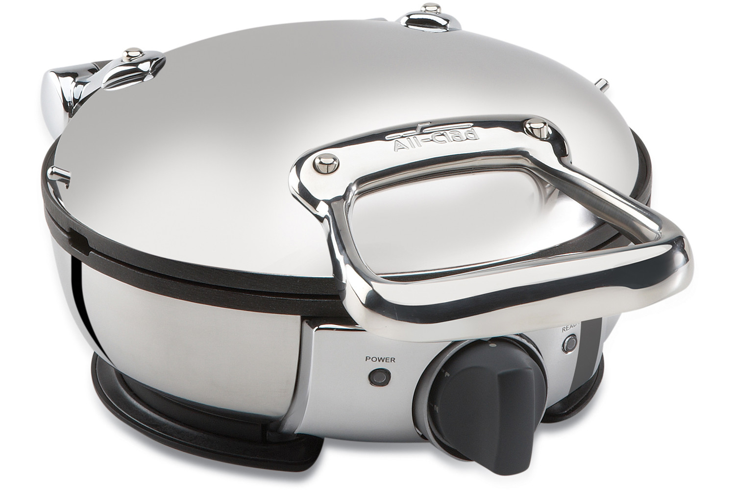 all clad classic round waffle maker reviews