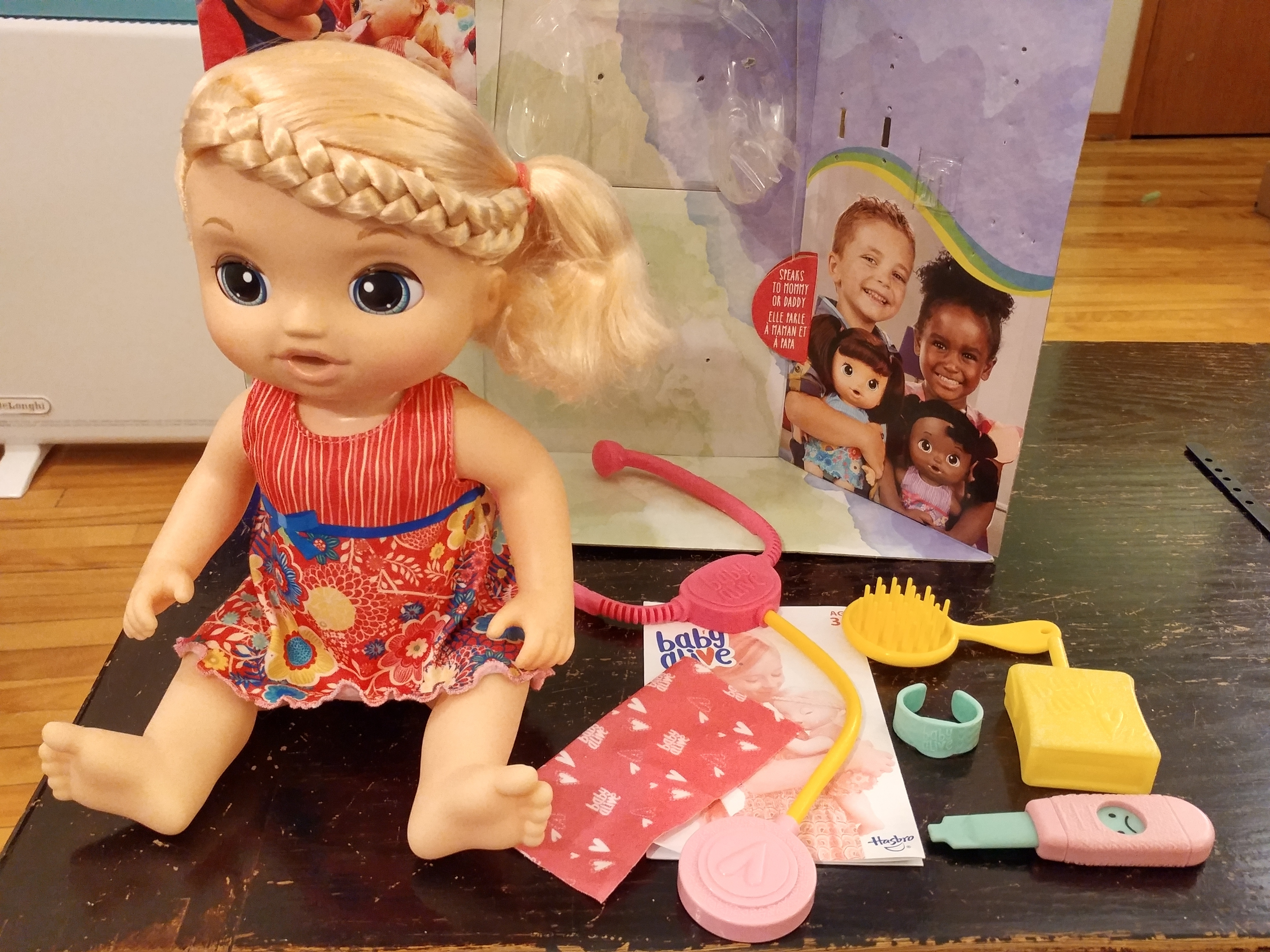 baby alive sweet tears review