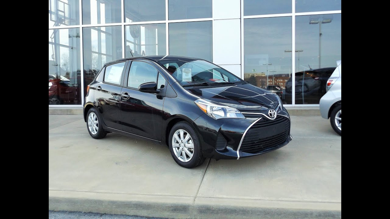 2015 toyota yaris le review