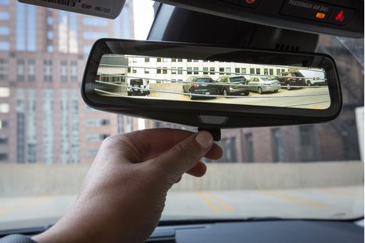 rear view mirror camera review