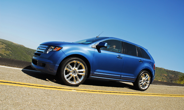 2009 ford edge sport review