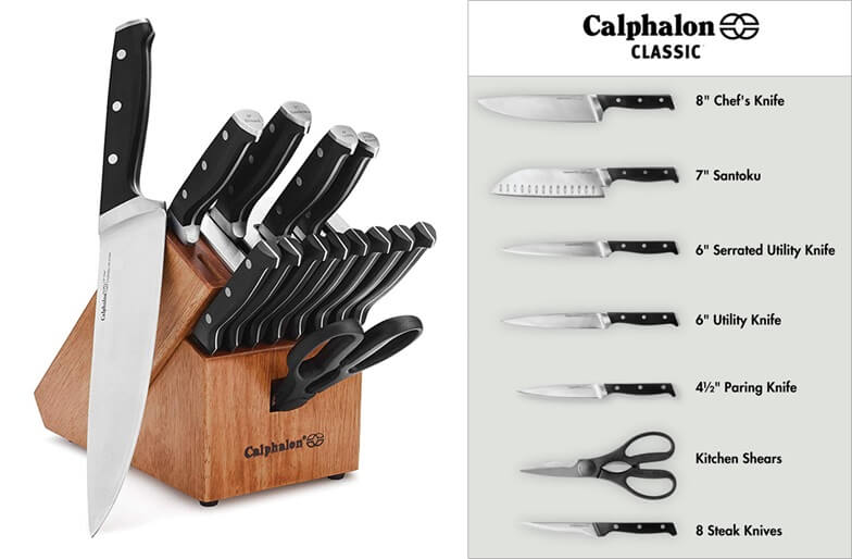 calphalon 7 santoku knife review
