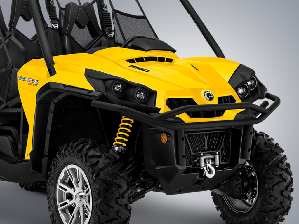 can am commander max review