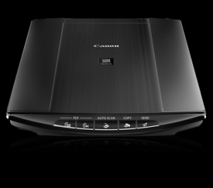 canon canoscan 4400f scanner review