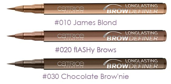 catrice longlasting brow definer review