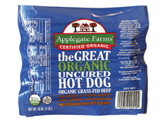 applegate farms the great organic uncured beef hot dog review