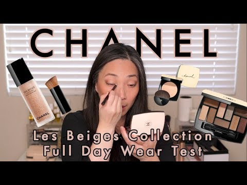 chanel les beiges eyeshadow palette review