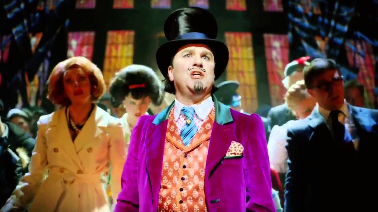charlie and the chocolate factory drury lane review