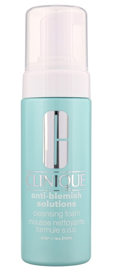 clinique anti blemish cleansing foam review