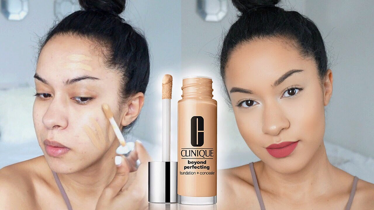 clinique beyond perfecting foundation review