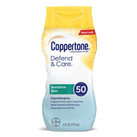 coppertone sensitive skin sunscreen lotion spf 50 reviews