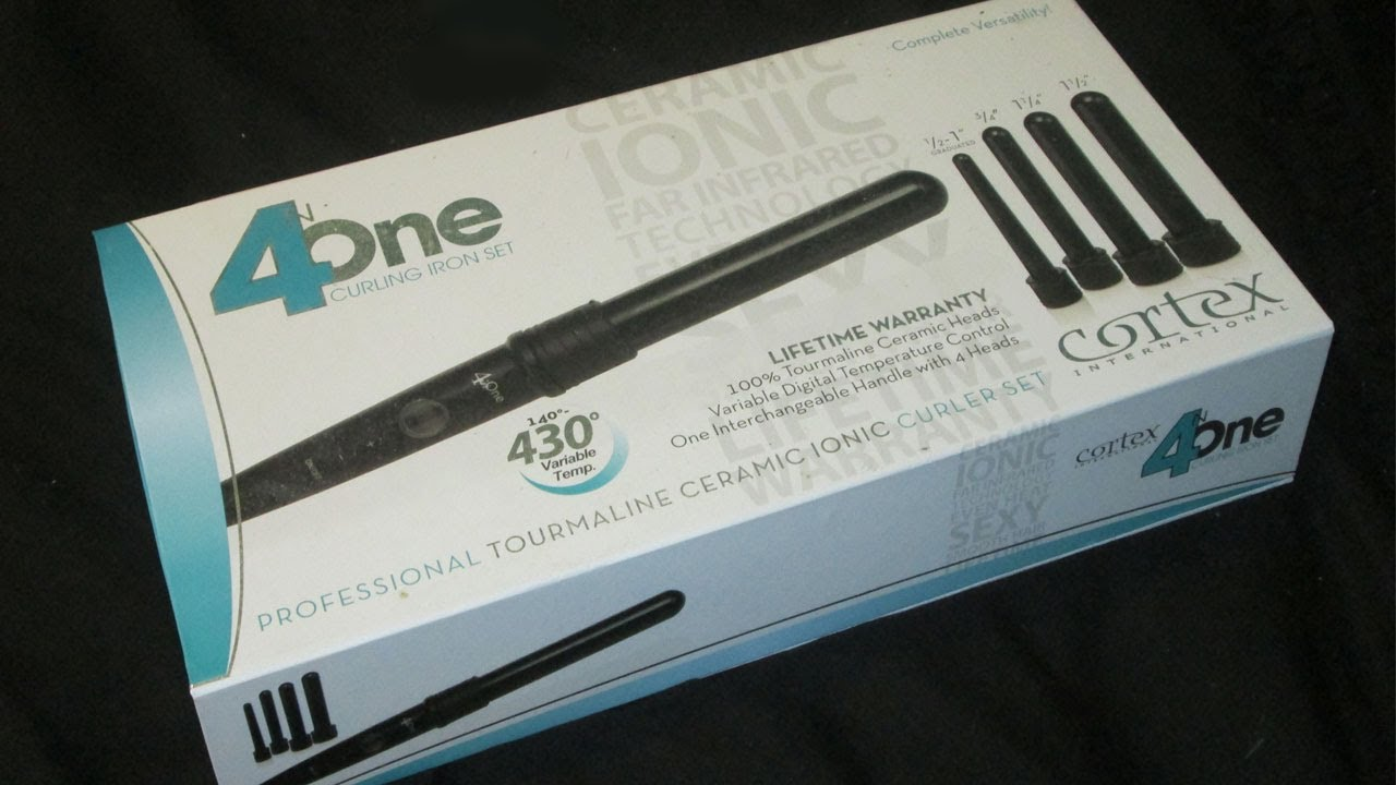 cortex 4 in 1 curling wand review