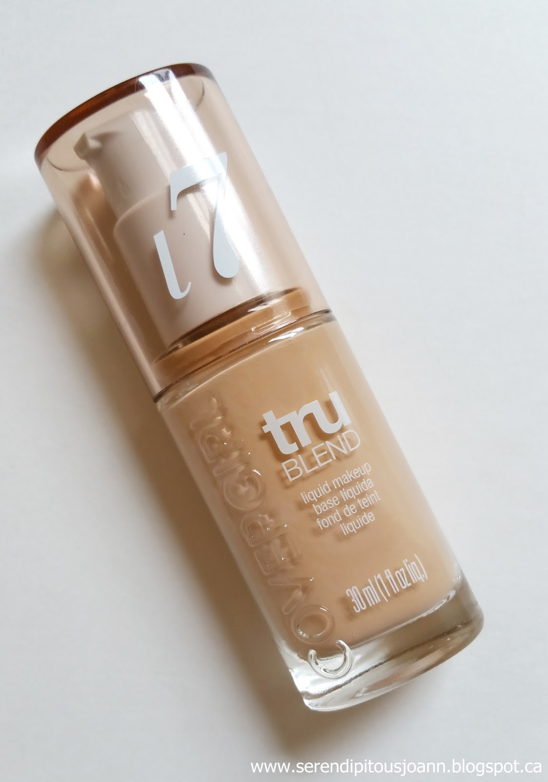 covergirl trublend liquid foundation review