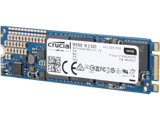 crucial mx300 525gb m 2 2280 solid state drive review