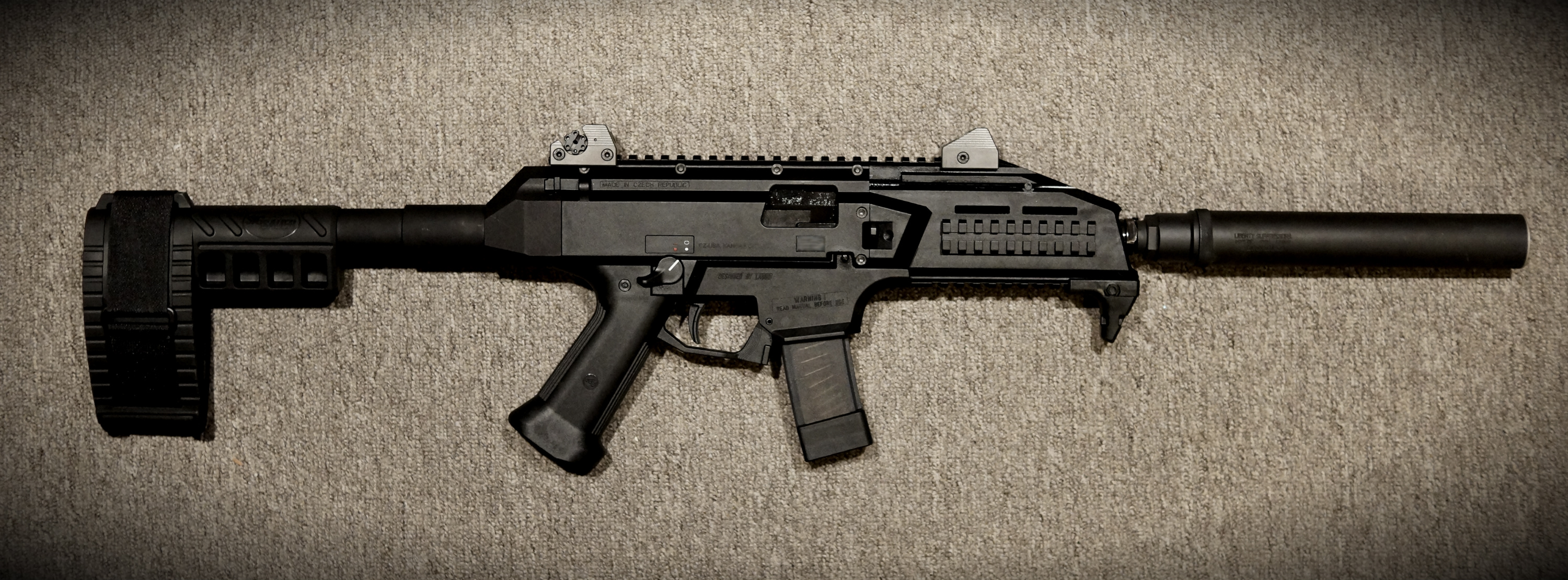 cz scorpion evo 3 s1 review
