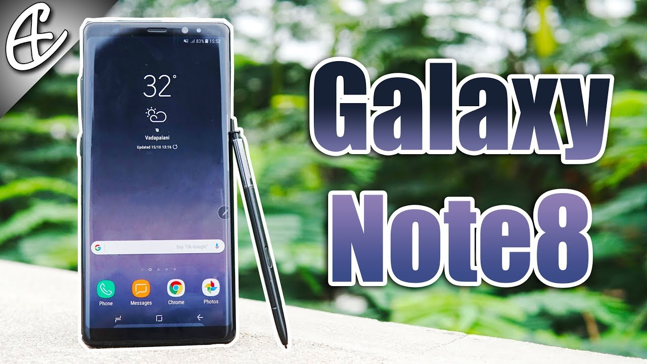 galaxy note 8 review youtube